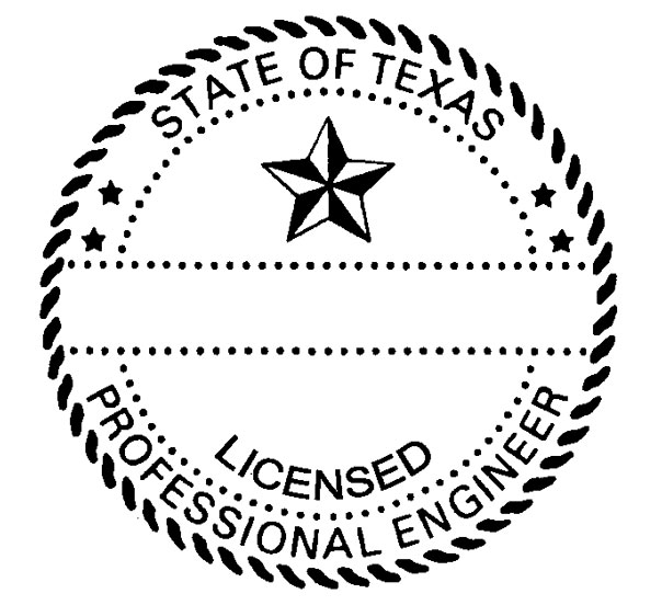 State of Texas Engineer Seal