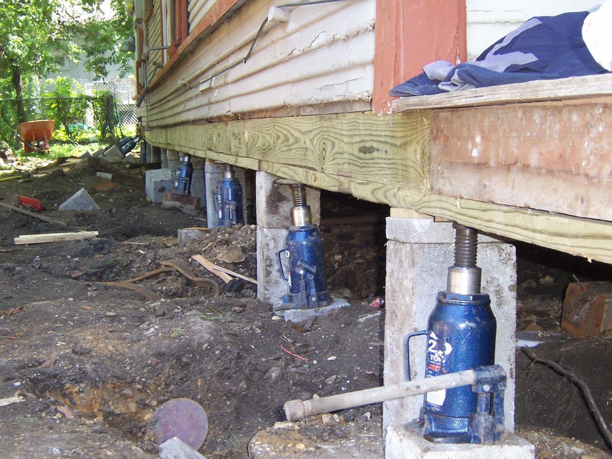 Mckinney tx foundation repair tips for homeowners for What is a pier foundation