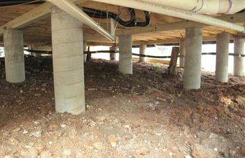 Pier and beam foundation repair tips for frisco tx for Pier foundation cost